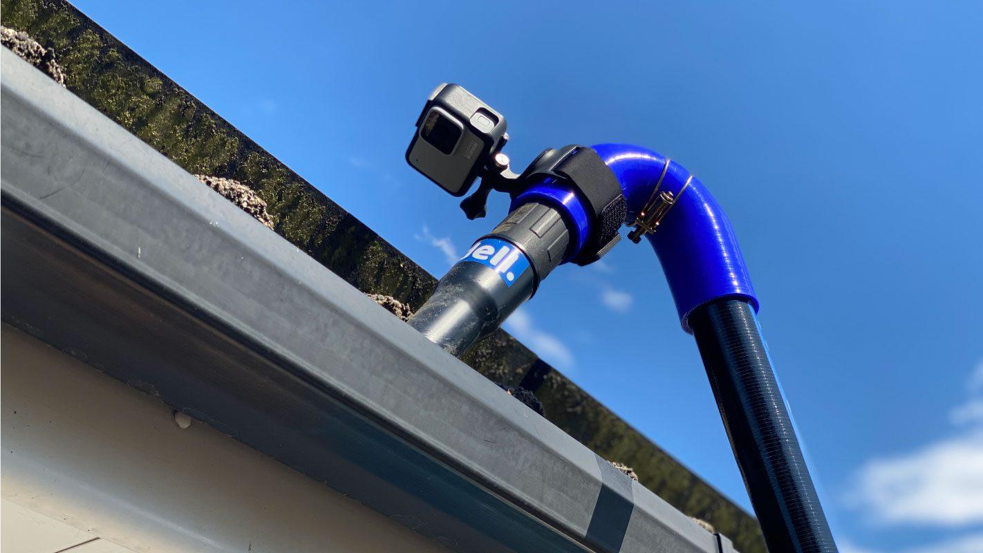 4k Camera Pole Inspection