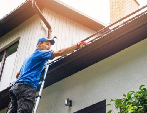 Red Oaks Care Home Gutter Cleaning