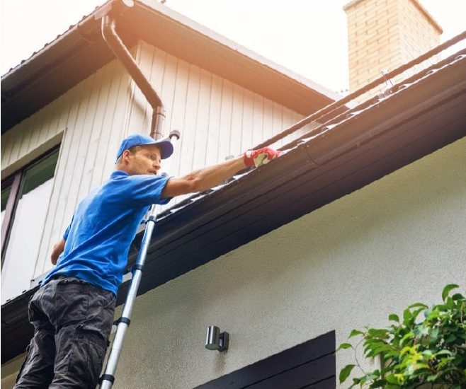 Care home Gutter Cleaning