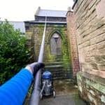 Church Gutter Cleaning